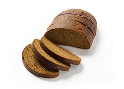 Rye bread produced with Alitech equipment for industrial baking